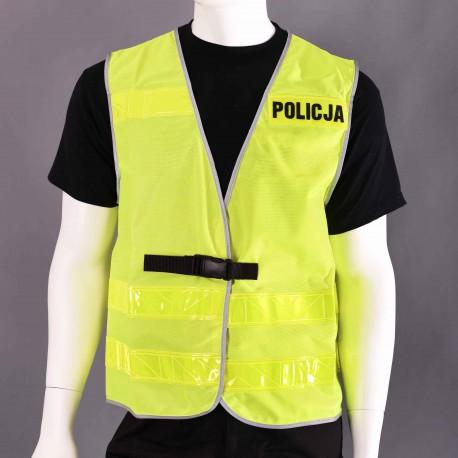 Kamizelka odblaskowa POLICJA