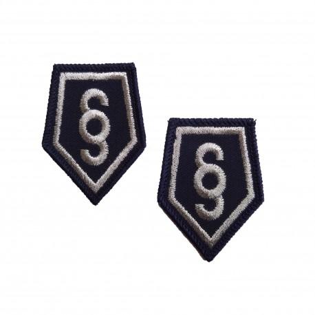 Korpusówka Służba Kryminalna - haft