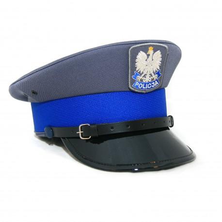 Czapka policyjna gabardynowa - podoficer
