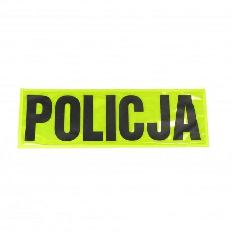 Naszywka odblaskowa POLICJA - duża