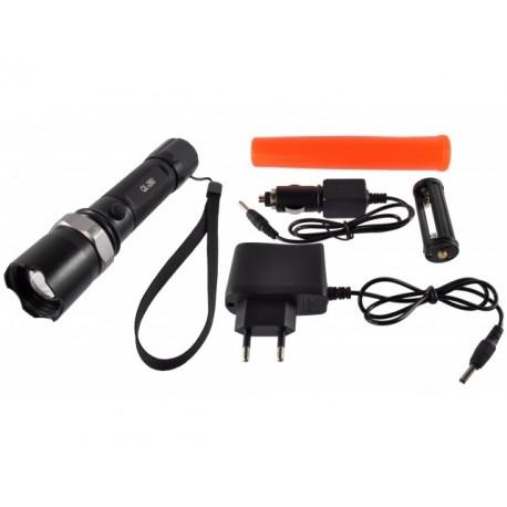 Latarka LED z nakładką sygnalizacyjną