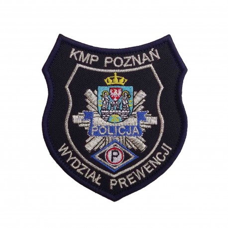 Emblemat KMP POZNAŃ - Wydział Prewencji