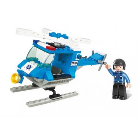 Klocki Sluban Helikopter Policyjny