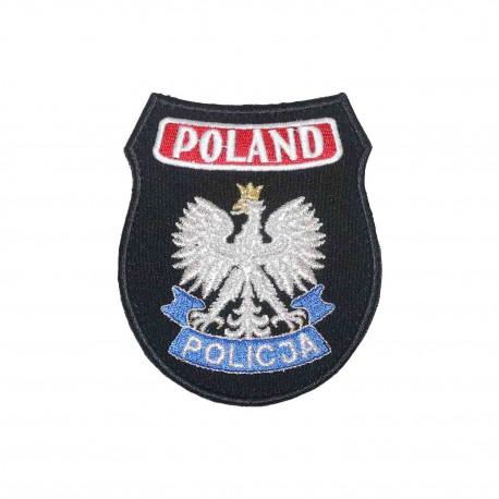 Emblemat POLAND - POLICJA